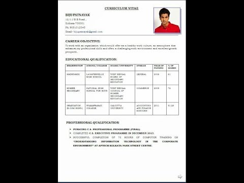 Naming Your Resume File  Naming A Resume