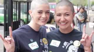 Repeat youtube video haircut and headshave on two beauties