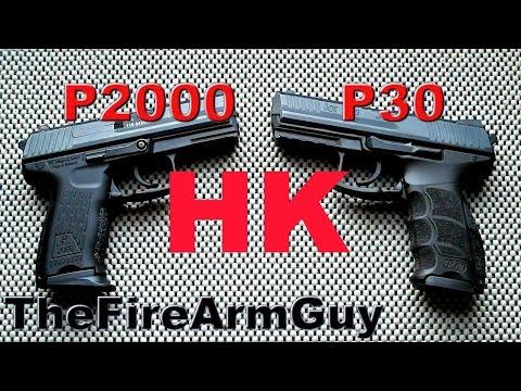 HK P2000 vs HK P30 - TheFireArmGuy
