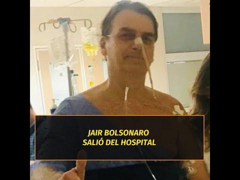 El presidente brasile�o Jair Bolsonaro fue dado de alta tras 17 d�as de internaci�n
