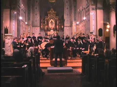 Claudio Monteverdi: Vespro della Beata Vergine 1610 (Bach Collegium San Diego) Part 2