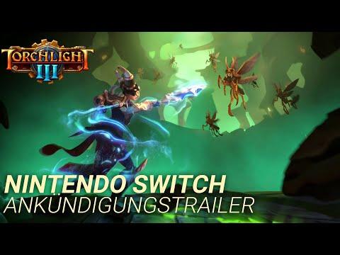 Torchlight III – Ankündigungstrailer für die Nintendo Switch
