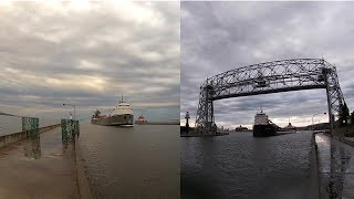 "A Duluth early morning ""Two-Fer"", making me late for work. ( Leitch /Michipicoten)"