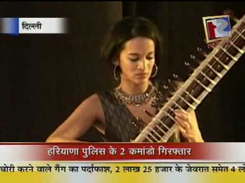 Anoushka Shankar performance for 'Music for Hunger' ,one of the events managed by Thyme