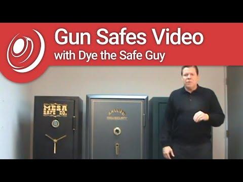 Gun Safes Video With Dye The Safe Guy
