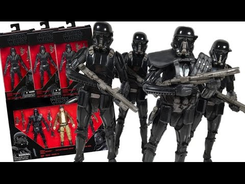 Star Wars Rogue One Black Series Death Trooper & Trooper Specialist (Target Exclusive)Toy Review