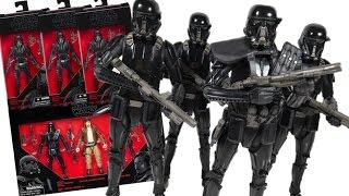 Star Wars Rogue One Black Series Death Trooper \\u0026 Trooper Specialist (Target Exclusive)Toy Review