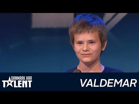 Valdemar Gravesen  - Danmark har talent - Audition 3