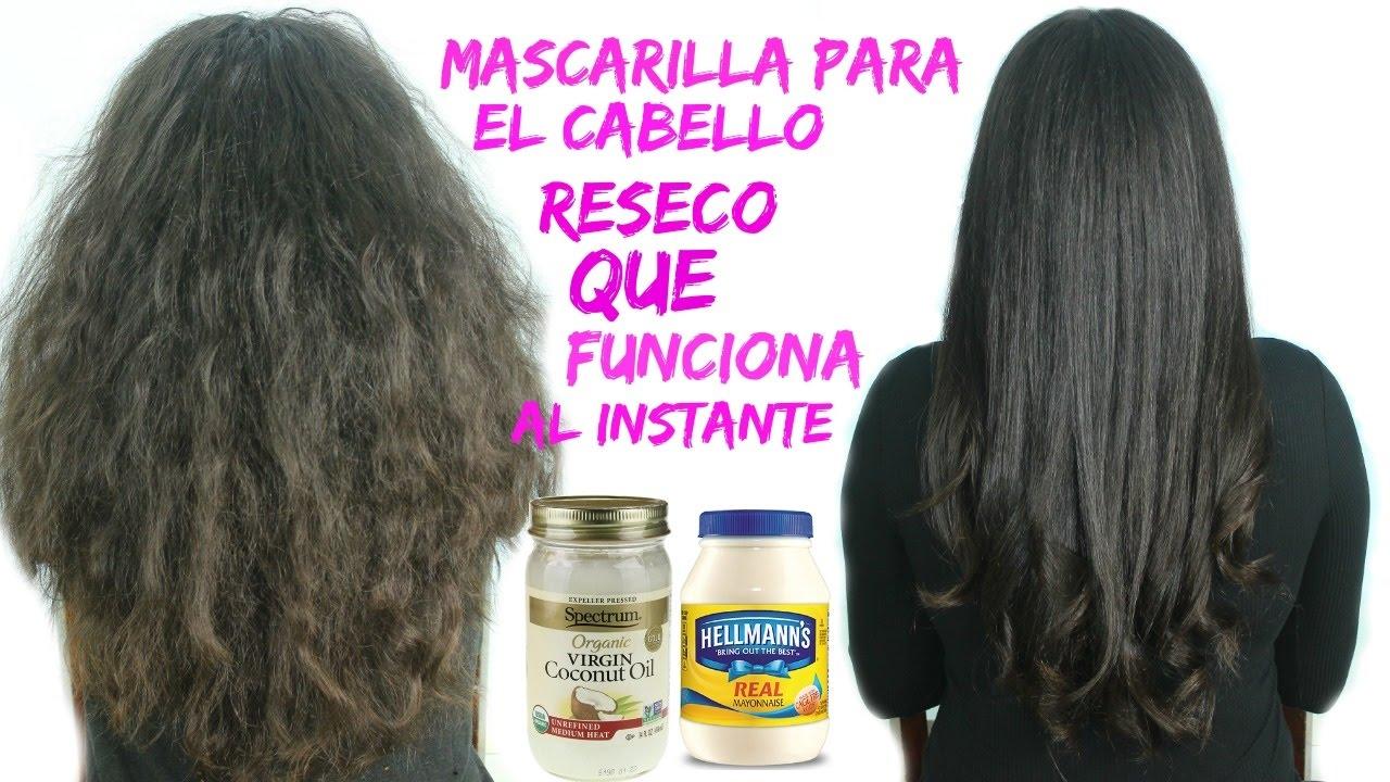Adiccion reacción importar  MASCARILLA para Cabello RESECO Y FRIZZ Que Funciona Al INSTANTE - YouTube