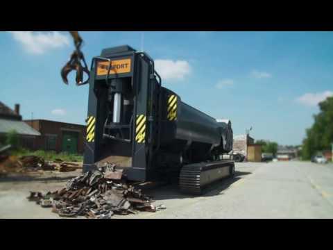 LEFORT Shear/Baler/Logger TRAX 600#CRAWLER 660#World Premiere#SCRAP INDUSTRY#BIG MACHINE