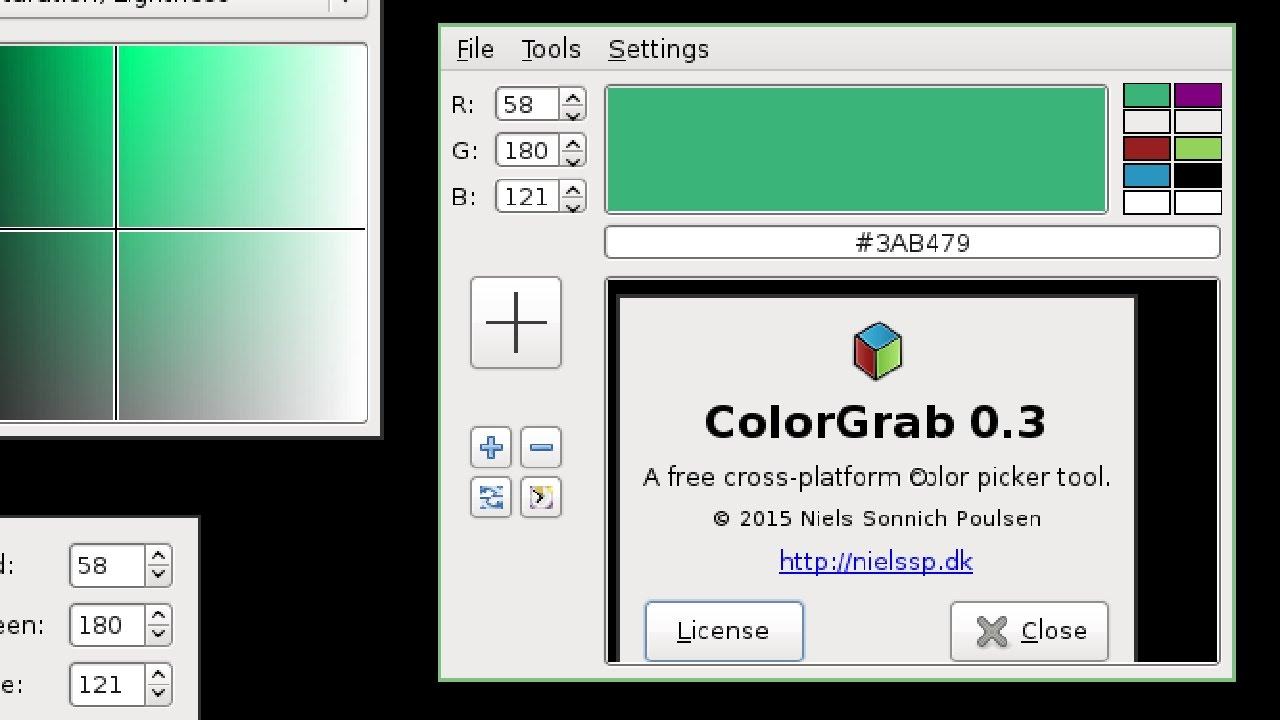 Colorgrab Cross Platform Wxwidgets Color Picker Youtube