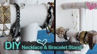 Diy Necklace And Bracelet Stand