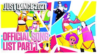 Get ready for the new just dance 2021! watch to take a sneak peak at upcoming song list latest installment in game series.availabl...
