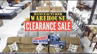 Manufacturer Warehouse Clearance   American Freight Furniture And Mattress