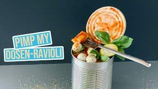 3 schnelle Rezepte mit Dosen Ravioli - lecker & einfach