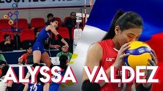Alyssa Valdez highlights (SEA Games 2019) Philippines
