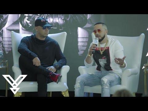 Wisin y Yandel – Conferencia de Prensa «Como Antes Tour» Puerto Rico