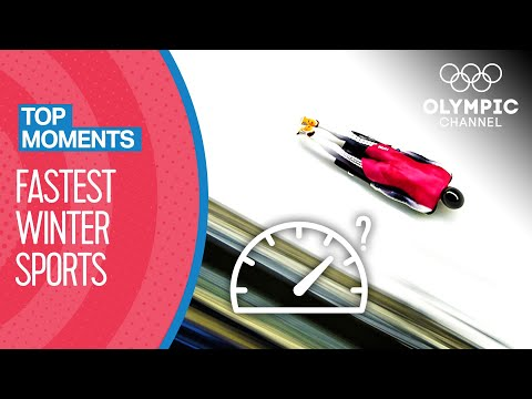 Which is the fastest winter sport? | Top Moments