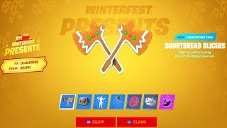 All PRESENTS Opened..! (*FREE* Emote, SITH, Pickaxe & More) Fortnite Battle Royale
