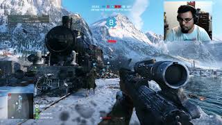 2/2 - Battlefield V Closed Alpha - Grand Operations - camping like a bo$$