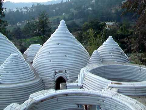 Earth dome houses