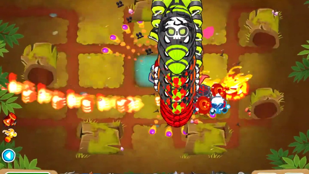 Bloons TD 6 - Deflation Round 100  Tested in releases from v8 to v11