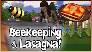 Functional Beekeeping Box & Lasagna! 🐝 | The Sims 4 (Mods by icemunmun)