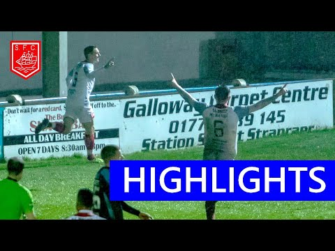 Stranraer Hamilton Goals And Highlights