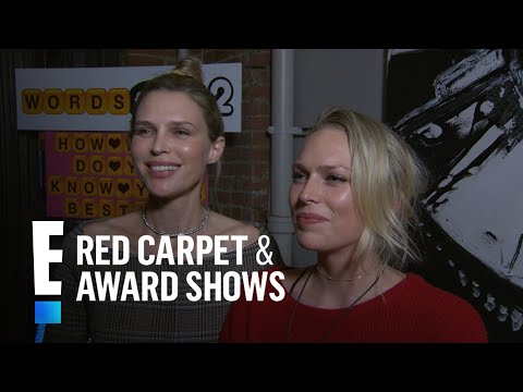 Erin & Sarah Foster Dish on Dad and Katharine McPhee | E! Live from the Red Carpet