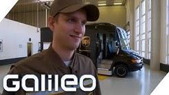 Das Trainingslager für Paketboten   Galileo   ProSieben