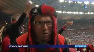 Reportage France 3 Bretagne sur les supporters Rennais