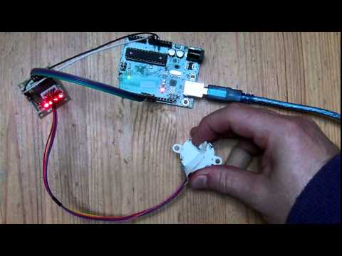 Wireless Stepper Motor Control with Arduino - YouTube