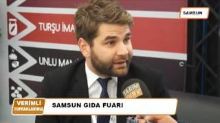SAMSUN GIDA FUARI 2016 TARIM TÜRK TV YAYINI
