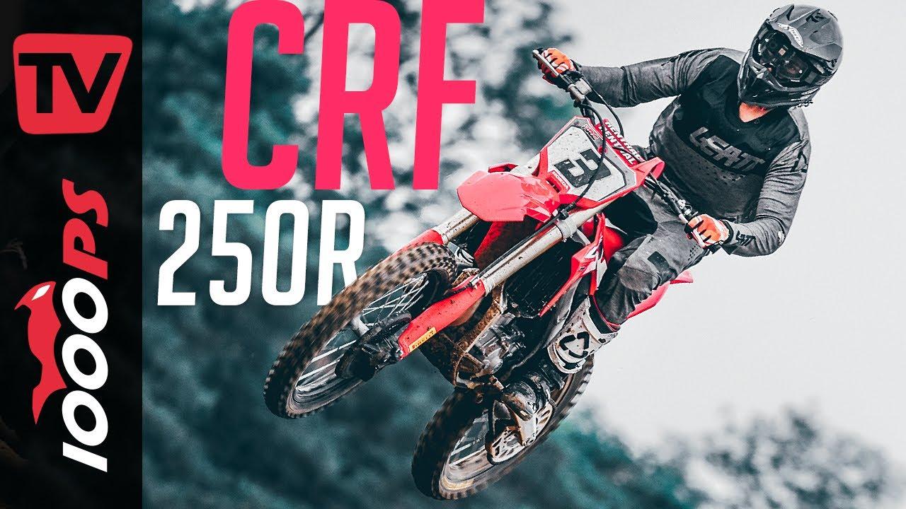 Ein Vierterl in Ehren! Honda CRF250R 2022 Motocross im Test