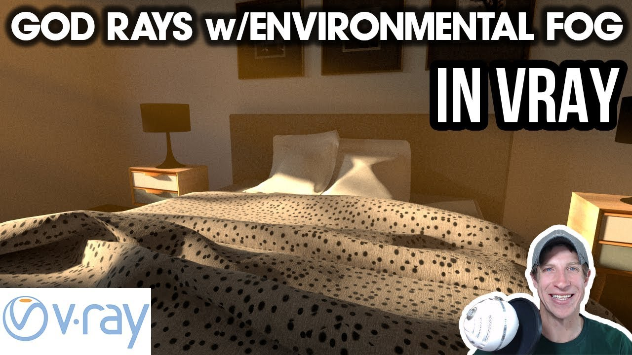 GOD RAYS in Vray for SketchUp with Environmental Fog! - The