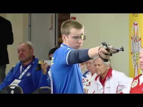 European Championship Juniors 25/50m Rifle and Pistol, Tallinn, Estonia - 50m Pistol Men Junior