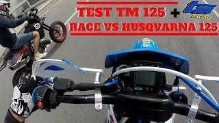 TEST TM SMR 2017 125 + TM VS HUSQVARNA | Test Ride ITA
