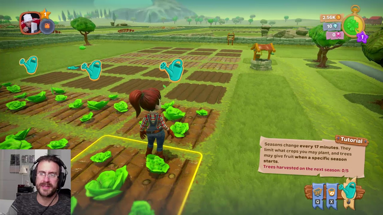 Farm Together Part One Co Op Online Farming Game Pc Steam Let S Play Youtube