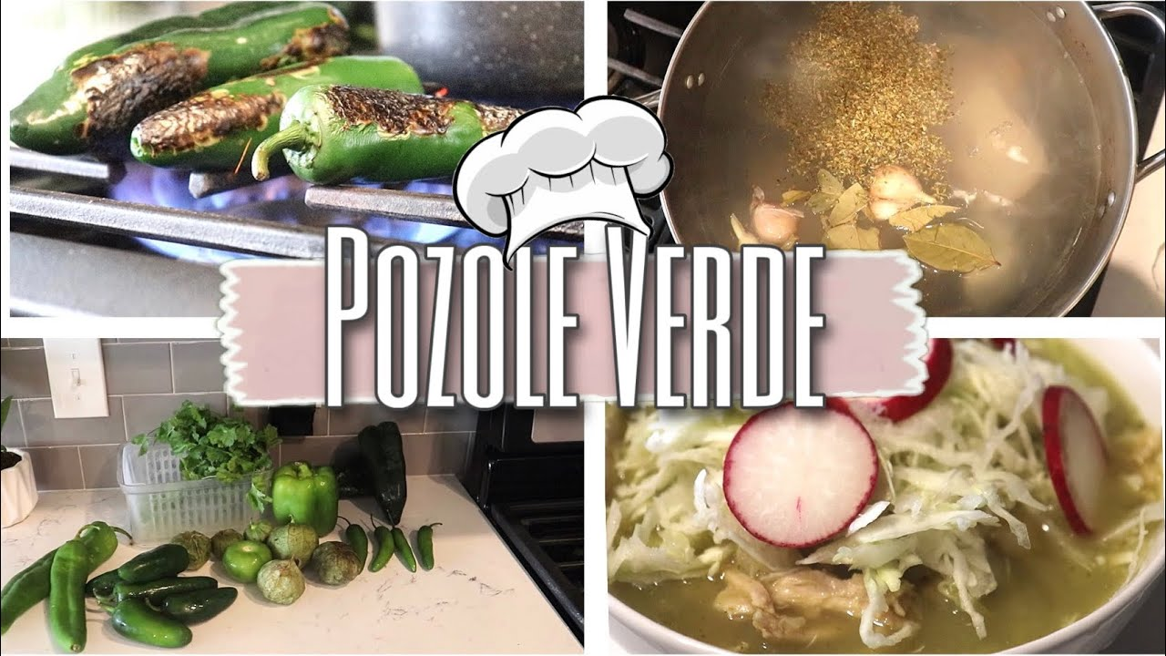 HOW I MAKE POZOLE VERDE   COOKING MOTIVATION   COOK WITH ME 2021  Easy Meal Idea   #SelmaRivera