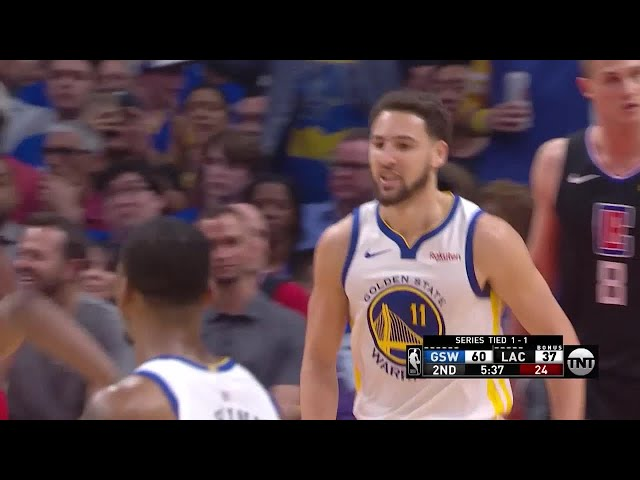 2nd Quarter, One Box Video: LA Clippers vs. Golden State Warriors