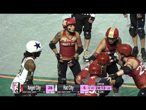 WFTDA Roller Derby - Division 1, Seattle - Game 11 - Angel City Derby vs.  Rat City