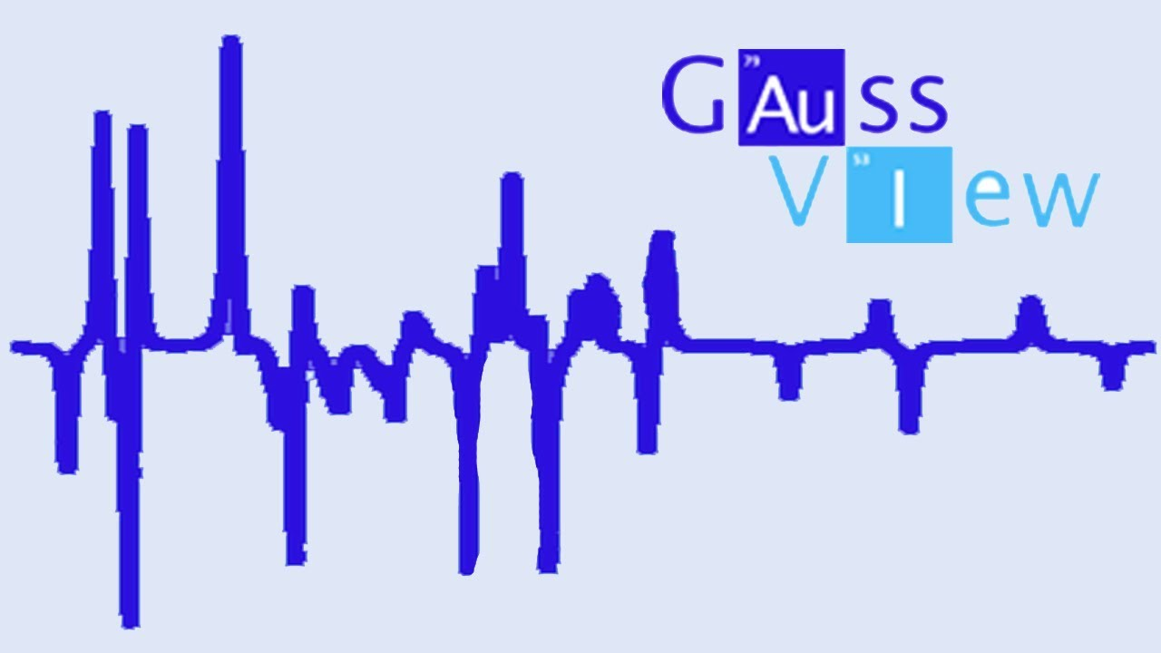 GaussView 6 Tutorial 5: Working with Spectra