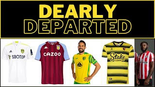 👕 DEARLY DEPARTED - KIT RANKINGS 21/22 | #LUFC #AVFC #NCFC #Watford FC #BrentfordFC
