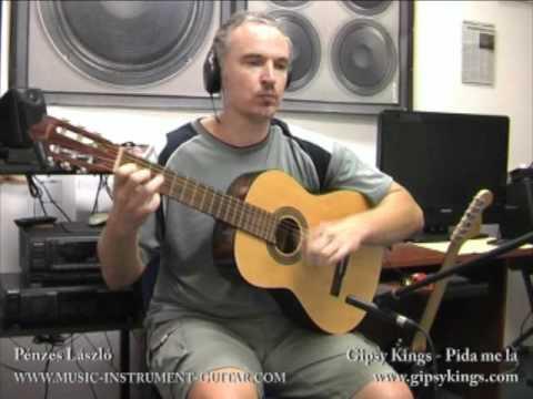 Pida Me La - Gipsy Kings (cover) - Educating Video For Acoustic Guitar