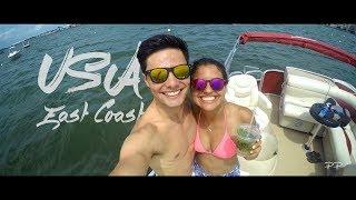 USA - East Coast Road Trip: NYC, Ocean City, Philadelphia & New Jersey