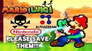 Nintendo, PLEASE Save Mario & Luigi!!!