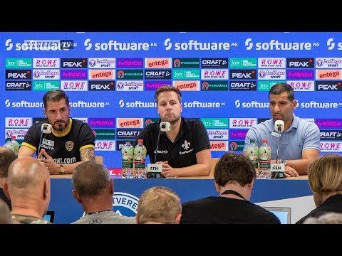 4. Spieltag | SVD - SGD | Pressekonferenz nach dem Spiel