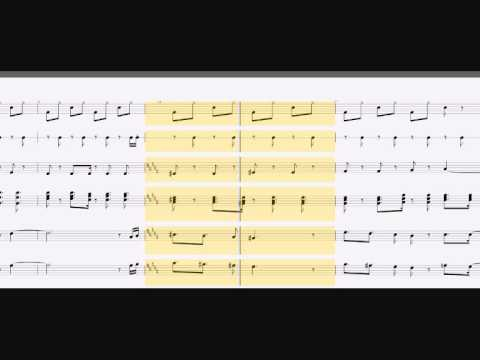 wii music wii sports sheet music youtube