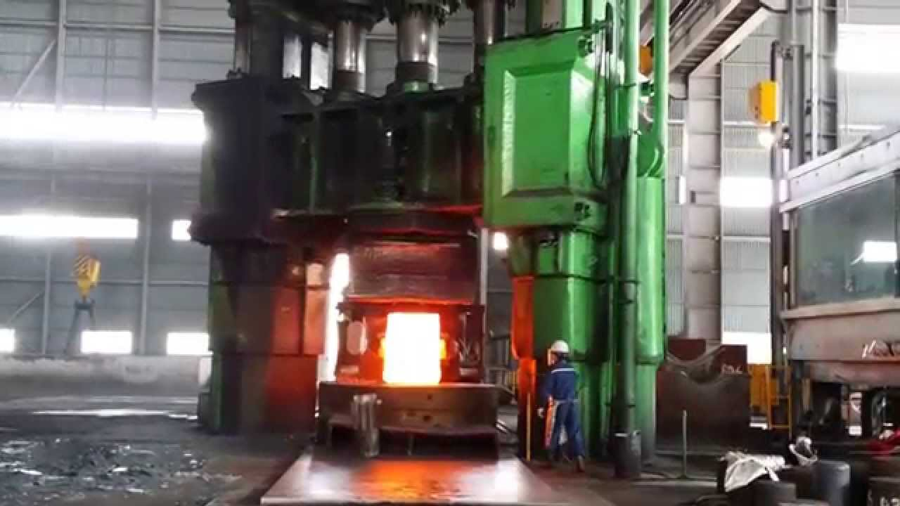 Pull Down 2-Columns Open Die Forging Hydraulic Press 8,000Ton & 5,000Ton ,,,
