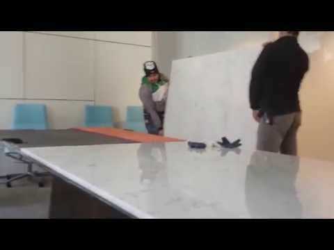 Table Marble Top Installation